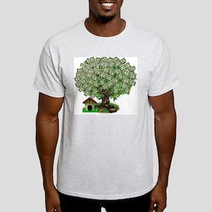 Money Ash Grey T-Shirt