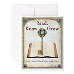 Key to Success Note Cards (Set of 20)