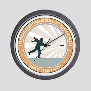 Make Your Shot Count Wall Clock