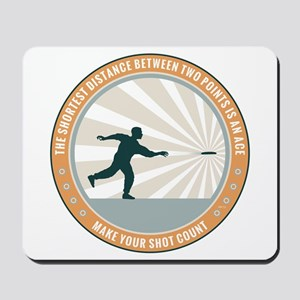 Make Your Shot Count Mousepad