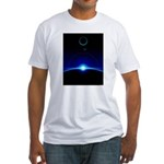 Solar Scene Fitted T-Shirt