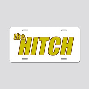 the HITCH Aluminum License Plate