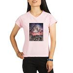 Moon Over Mountain Lake Performance Dry T-Shirt