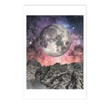Moon Over Mountain Lake Postcards (Package of 8)