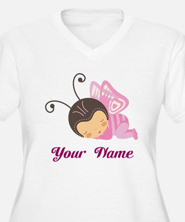 Personalized Butterfly T-Shirt