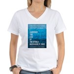 I Survived The End of The World Women's V-Neck T-S