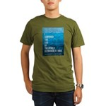 I Survived The End of The World Organic Men's T-Sh