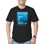 I Survived The End of The World Men's Fitted T-Shi