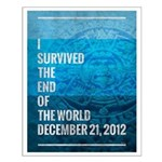 I Survived The End of The World Small Poster