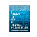 I Survived The End of The World Postcards (Package