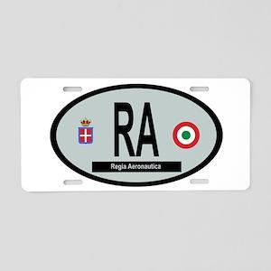Regia Aeronautica 1923-1936 Aluminum License Plate