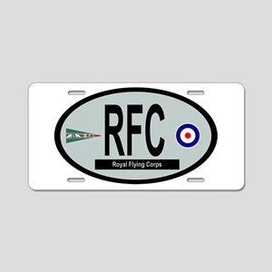 Royal Flying Corps Aluminum License Plate