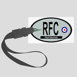 Royal Flying Corps Large Luggage Tag