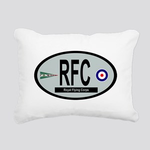 Royal Flying Corps Rectangular Canvas Pillow