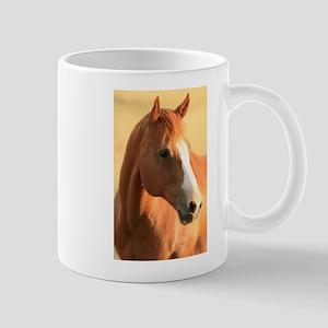 Horse portrait Mug