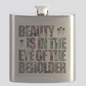 Beauty Is In The Eye of The Beholder Flask
