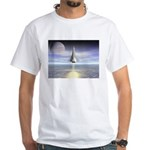 Rocket Launch White T-Shirt
