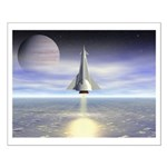 Rocket Launch Small Poster