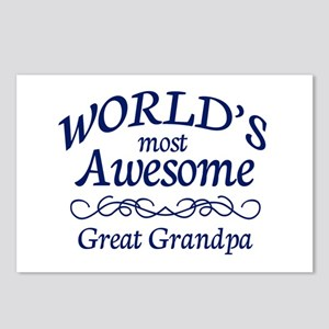 Great Grandpa Postcards (Package of 8)
