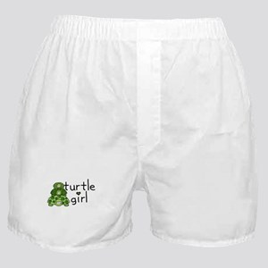 turtle girl Boxer Shorts