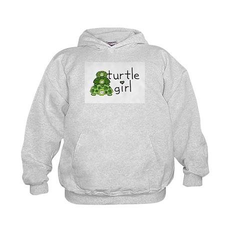 turtle girl Kids Hoodie