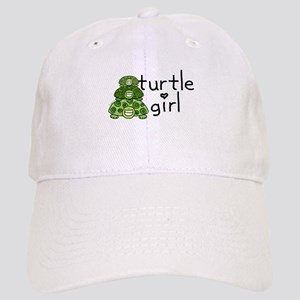 turtle girl Cap