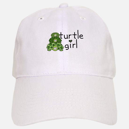turtle girl Baseball Baseball Cap