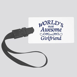 Girlfriend Large Luggage Tag