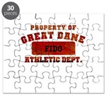 Personalized Prop of Great Dane Puzzle