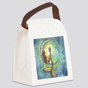Mermaid Moon Fantasy Art Canvas Lunch Bag