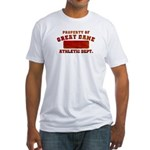 Property of Great Dane Fitted T-Shirt