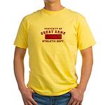 Property of Great Dane Yellow T-Shirt