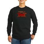 Property of Great Dane Long Sleeve Dark T-Shirt