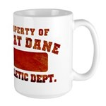 Property of Great Dane Large Mug