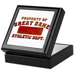 Property of Great Dane Keepsake Box