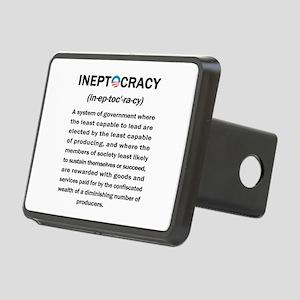Ineptocracy Rectangular Hitch Cover