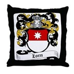 Zorn Coat of Arms Throw Pillow