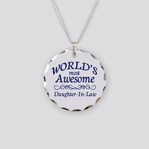 Daughter-In-Law Necklace Circle Charm