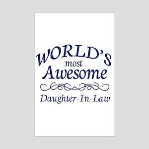 Daughter-In-Law Mini Poster Print