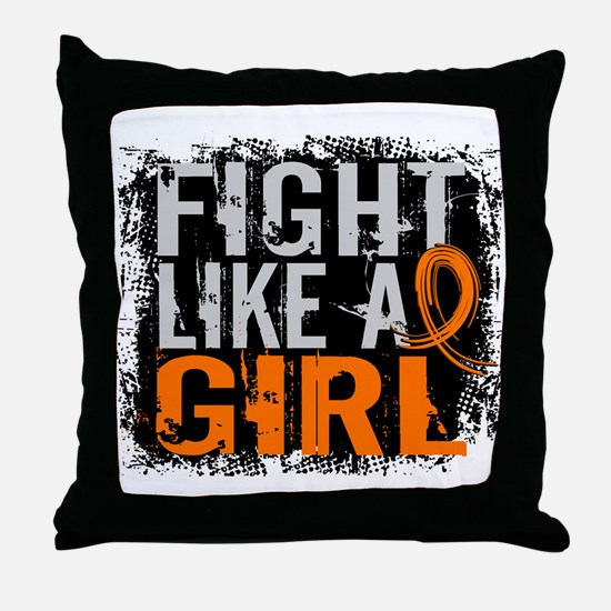 Licensed Fight Like a Girl 31.8 RSD Throw Pillow
