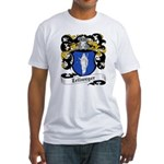 Zellweger Coat of Arms Fitted T-Shirt