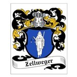 Zellweger Coat of Arms Small Poster