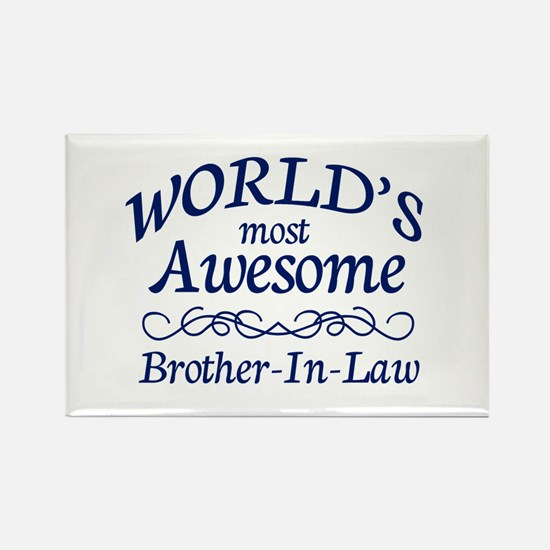 Brother-In-Law Rectangle Magnet (100 pack)