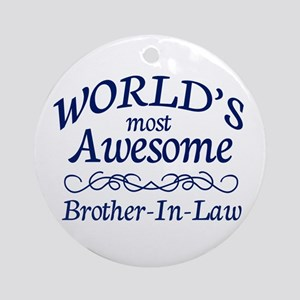 Brother-In-Law Ornament (Round)
