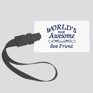 Best Friend Large Luggage Tag