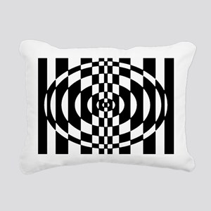 Op - Art Rectangular Canvas Pillow