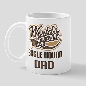 Bagle Hound Dog Dad Mug