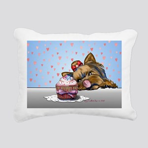 Hey there, Cupcake! Rectangular Canvas Pillow