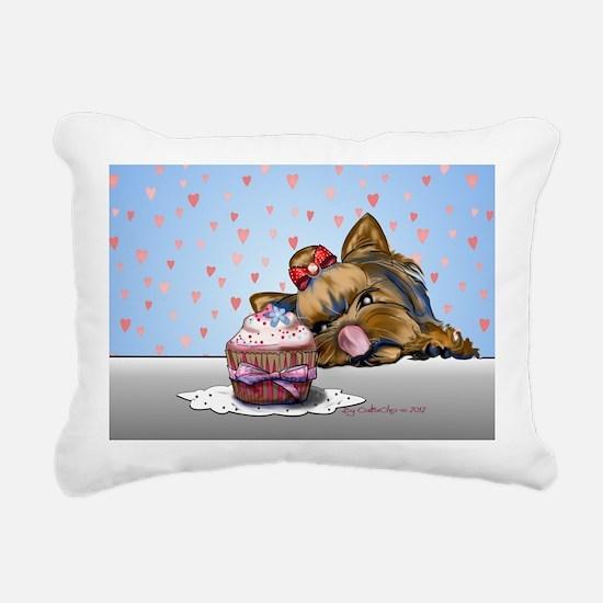 Hey there, Cupcake! Rectangular Canvas Pillow