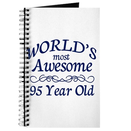 Awesome 95 Year Old Journal
